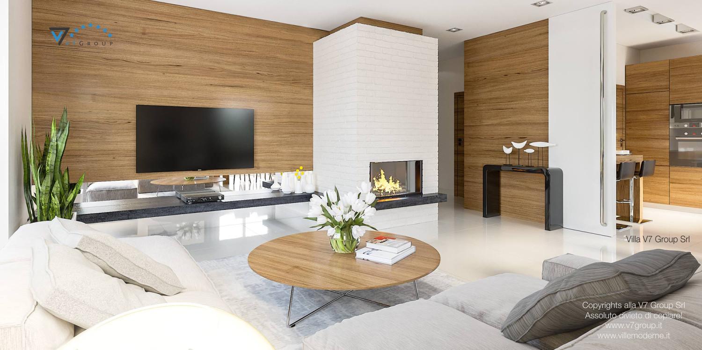 Immagine Villa V21 - interno 3 - soggiorno