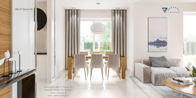 Immagine Villa V21 - interno 6 - sala da pranzo