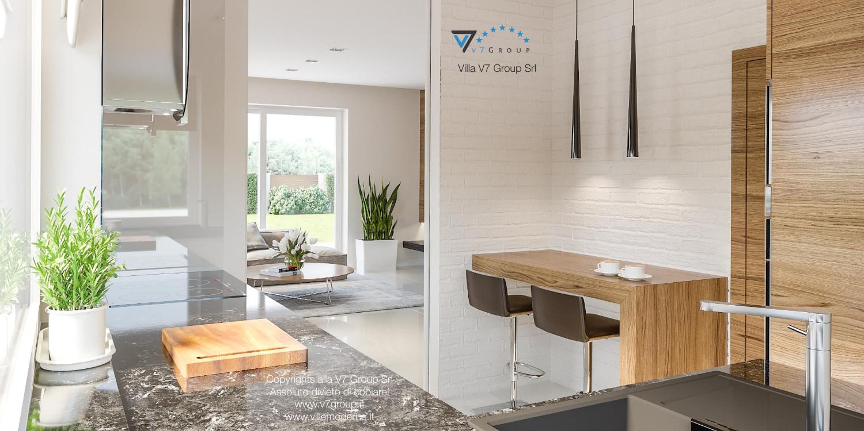 Immagine Villa V21 - interno 9 - cucina e soggiorno