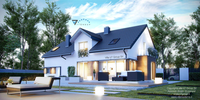 Immagine Villa V21 - vista giardino grande