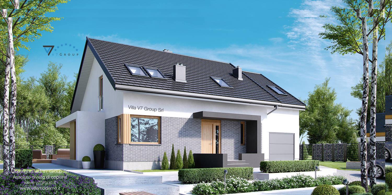 Immagine Villa V22 - vista frontale grande