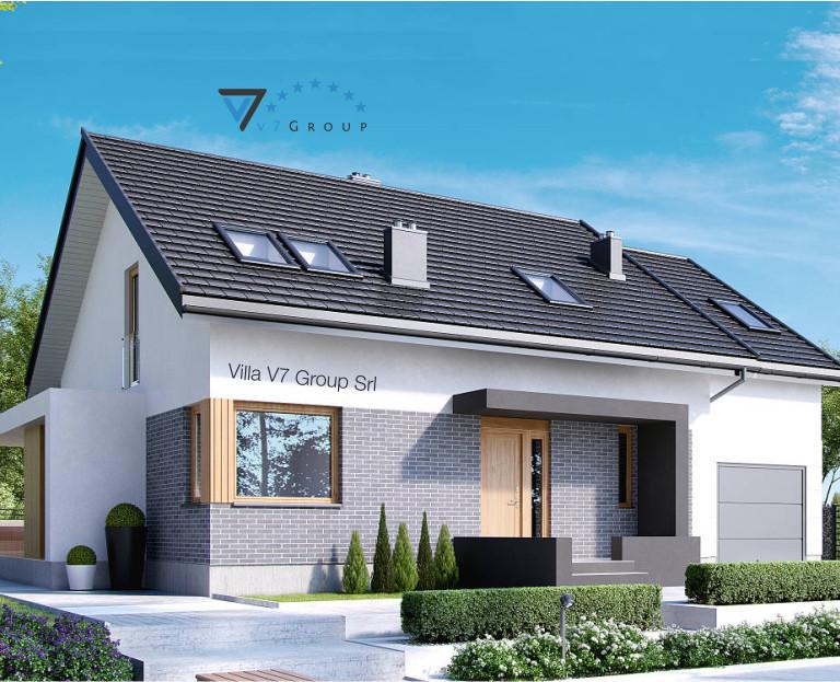Immagine Villa V22 - vista frontale piccola