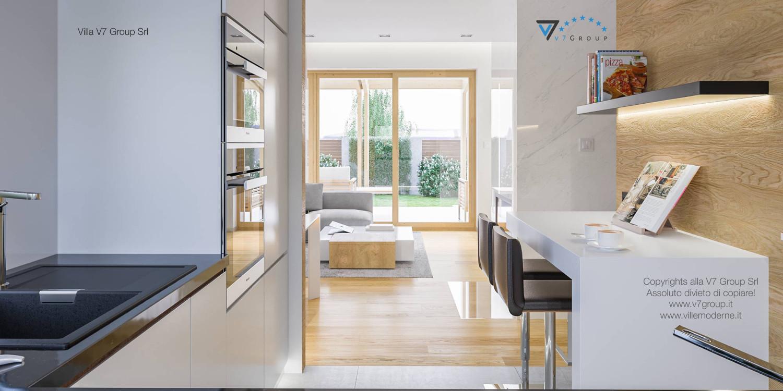 Immagine Villa V23 - interno 6 - cucina e soggiorno