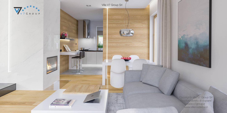 Immagine Villa V23 - interno 7 - cucina e soggiorno