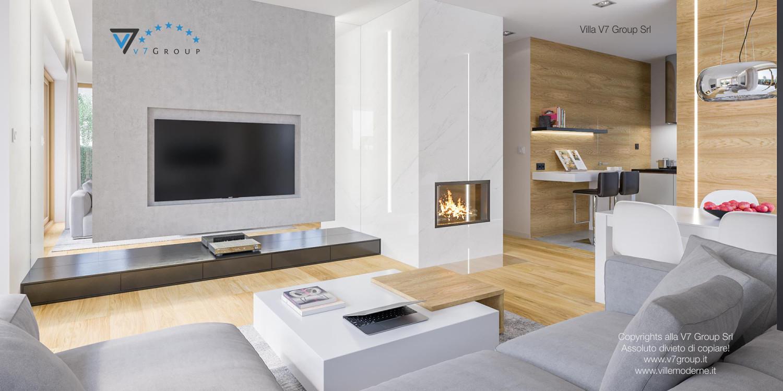 Immagine Villa V23 - interno 8 - soggiorno