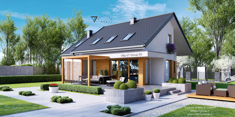 Immagine Villa V23 - vista giardino grande