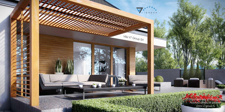 Immagine Villa V23 - vista terrazzo esterno grande
