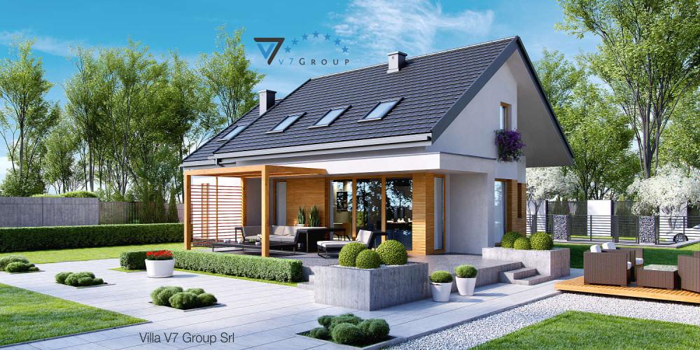 Immagine Villa V24 (progetto originale) - la presentazione di Villa V23
