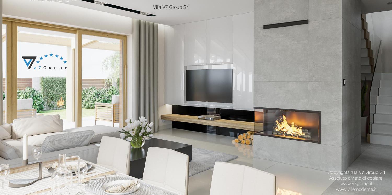 Immagine Villa V24 - interno 3 - soggiorno e sala da pranzo