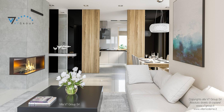 Immagine Villa V24 - interno 7 - soggiorno e cucina