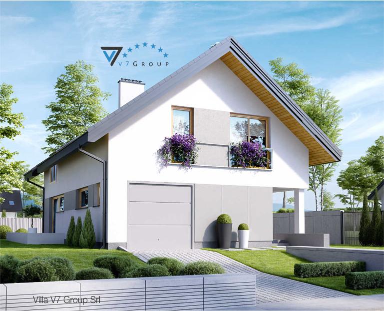 Immagine Villa V25 - vista frontale piccola
