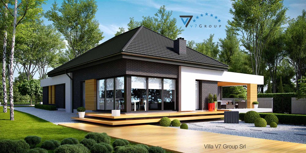 Immagine Villa V26 (progetto originale) - la presentazione di Villa V27