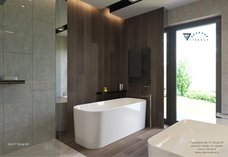 Immagine Villa V26 - il bagno secondario - versione 1