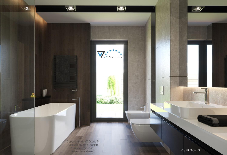 Immagine Villa V26 - la porta balcone nel bagno - versione 1