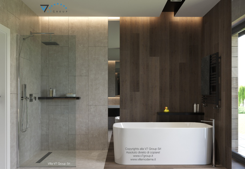 Immagine Villa V26 - la doccia nel bagno secondario - versione 1