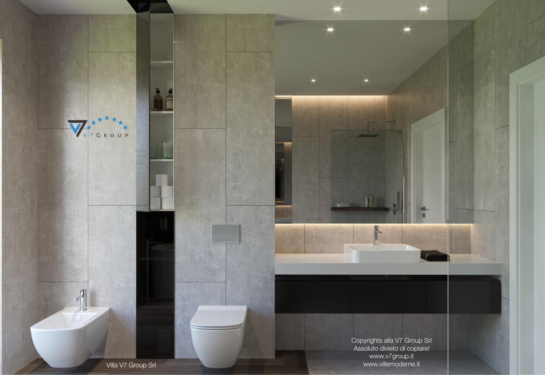 Immagine Villa V26 - il lavandino e lo specchio grande - versione 1