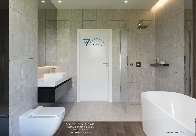 Immagine Villa V26 - la porta del bagno secondario - versione 1