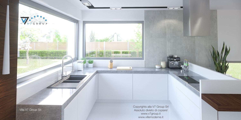 Immagine Villa V26 - la cucina bianca - versione 1
