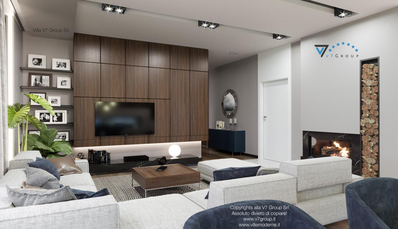 Immagine Villa V26 - versione 2 - interno 1 - soggiorno