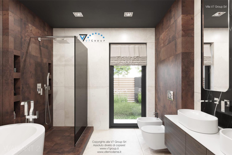 Immagine Villa V26 - la porta balcone nel bagno - versione 2