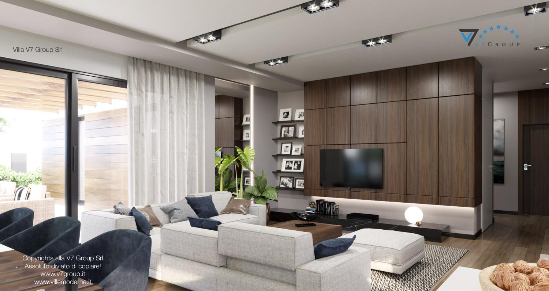 Immagine Villa V26 - versione 2 - interno 2 - soggiorno