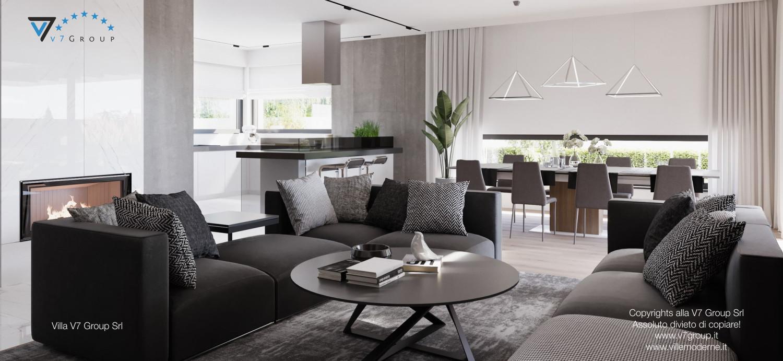 Immagine Villa V26 - versione 3 - interno 1 - soggiorno