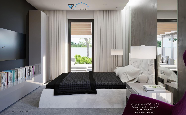 Immagine Villa V26 - il letto matrimoniale - terza versione