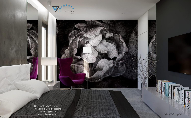 Immagine Villa V26 - la parete nella camera matrimoniale - terza versione