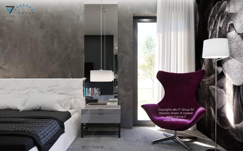 Immagine Villa V26 - i mobili nella camera matrimoniale - terza versione
