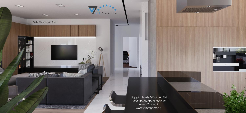 Immagine Villa V26 - versione 3 - interno 7 - corridoio e cucina