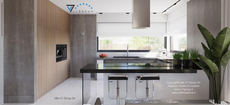 Immagine Villa V26 - la cucina grande - terza versione