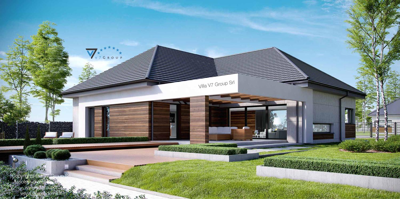 Immagine Villa V26 - vista giardino grande