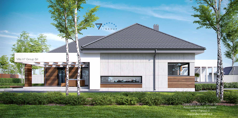 Immagine Villa V26 - vista laterale grande