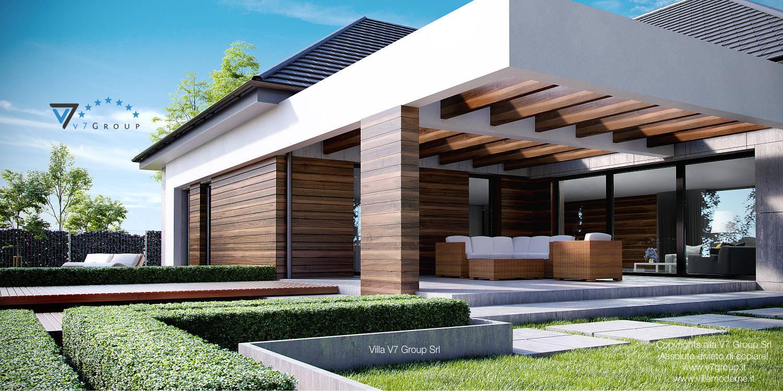 Immagine Villa V26 - vista terrazzo esterno grande