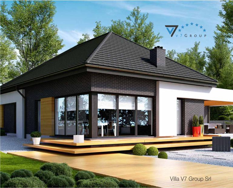 Immagine Villa V27 - il dettaglio del giardino di casa