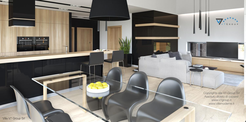 Immagine Villa V27 - interno 4 - sala da pranzo e cucina