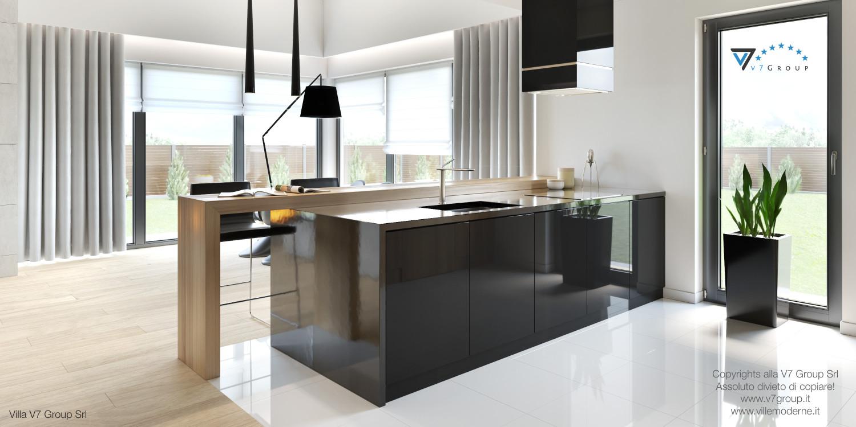 Immagine Villa V27 - la sistemazione interna della cucina