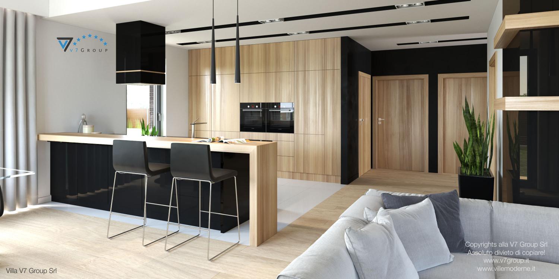 Immagine Villa V27 - la cucina grande e il corridoio