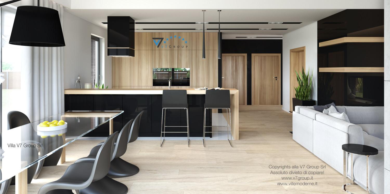 Immagine Villa V27 - la cucina e la sala da pranzo