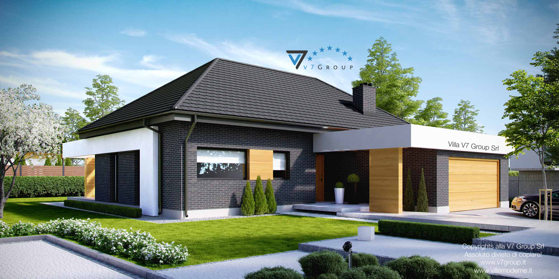Immagine Villa V27 - la parte frontale della casa