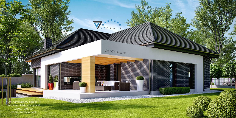 Immagine Villa V27 - il design del terrazzo esterno