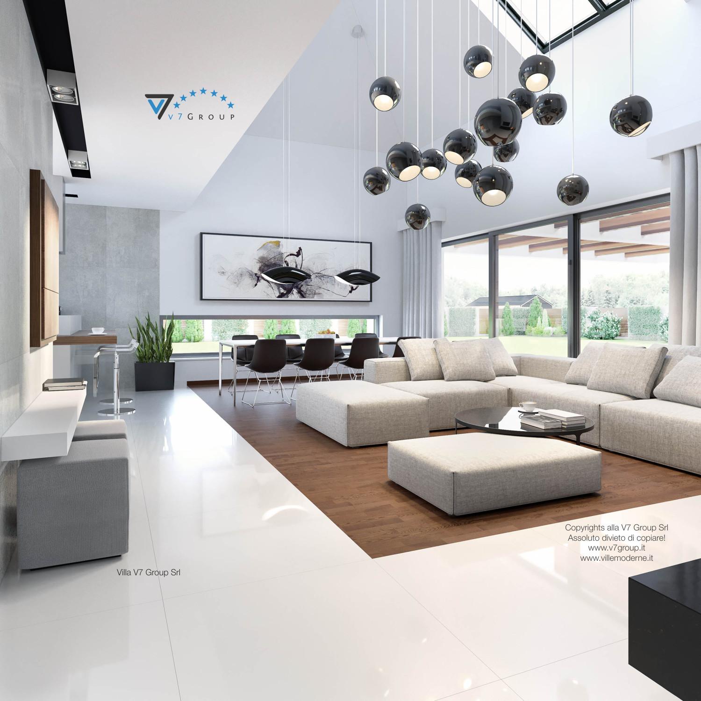 Immagine Villa V28 - la sistemazione del soggiorno della villa