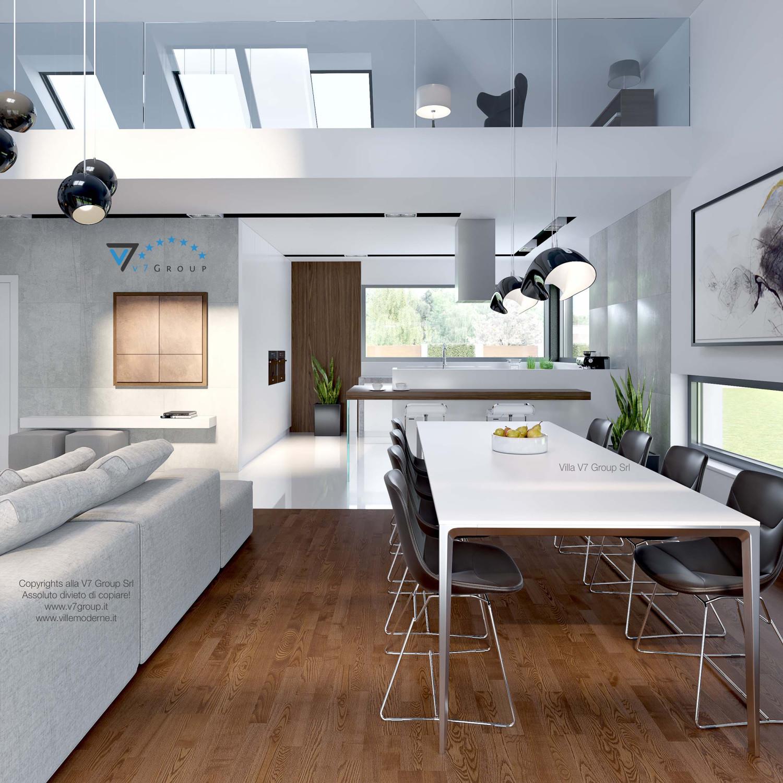 Immagine Villa V28 - la sala da pranzo e la cucina