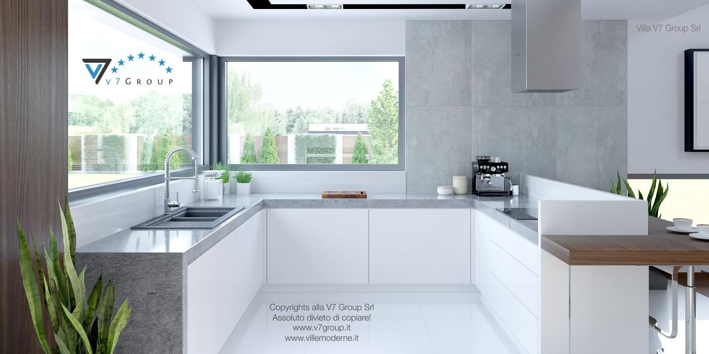 Immagine Villa V28 - i mobili bianchi della cucina