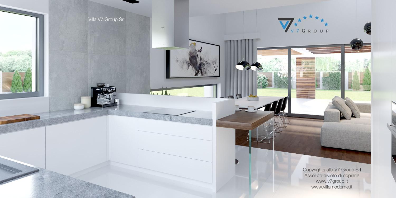 Immagine Villa V28 - la sistemazione della cucina e della sala da pranzo