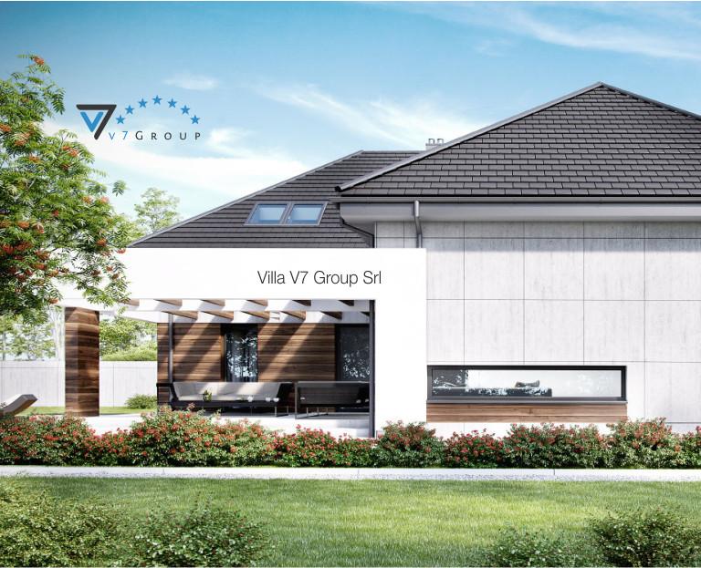 Immagine Villa V28 - il dettaglio del terrazzo esterno