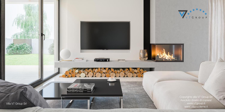 Immagine Villa V29 - la tv nel soggiorno grande
