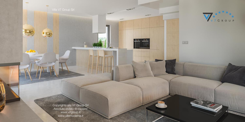 Immagine Villa V29 - la vista della cucina e del soggiorno