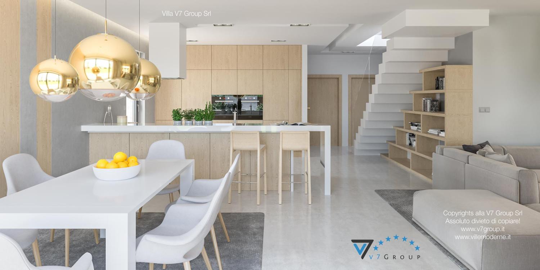 Immagine Villa V29 - la sistemazione della cucina e della sala da pranzo