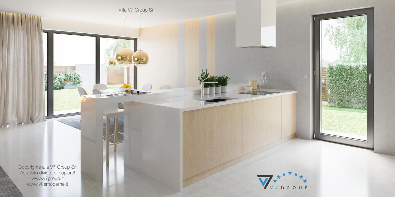 Immagine Villa V29 - i mobili moderni della cucina